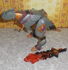 Transformers Animated GRIMLOCK Complete Dinobot Voyager Lot
