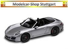 Porsche 911 Carrera 4 GTS Cabriolet silber Herpa 1:43 WAP0201040H neu