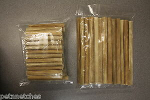 QUALITY NATURAL RAWHIDE CIGARS DOG CHEWS/TREATS VARIOUS SIZES NEW!
