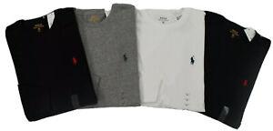 Polo Ralph Lauren Men's LS Classic Fit Crew Neck T-Shirts 100% Genuine RRP £50