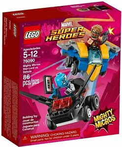 LEGO 76090 Mighty Micros: Star-Lord vs Nebula - Brand New In Box - Free Post!
