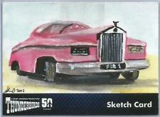 Thunderbirds 50 Years Sketch Card by Solly Mohamed of Fab1