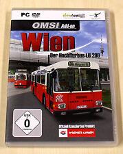 OMSI ADD ON - WIEN - HOCHFLURBUS LU 200 - PC DVD & HANDBUCH BUS FAHR SIMULATOR