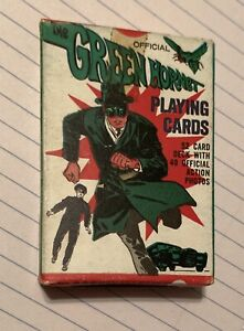 Green Hornet Deck Of Cards. 1966 Greenway Productions.