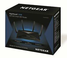 Netgear Nighthawk X10 (R9000) 7200 Mbps 7-Port Wireless AD Router R9000-100NAS