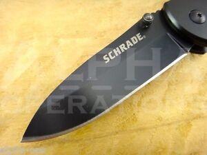 Schrade Folding Pocket Knife Survival Fishing Hunting EDC Camping Tool 209