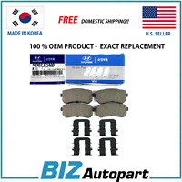 OEM GENUINE REAR BRAKE PADS KIT FOR 14-18 HYUNDAI LF SONATA 58302-C1A00
