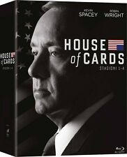 HOUSE OF CARDS - STAGIONE 01-04  16 BLU-RAY  COFANETTO