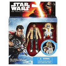 Star Wars The Force Awakens Snow Mission Armor Finn 3.75 Figure