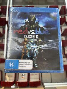 Red vs Blue season 12 bluray movie brand new sealed