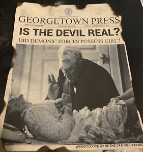 Exorcist Newsprint Regan,Linda Blair