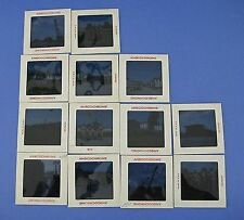 Lot 13 Ansochrome Color Transparencies Slides Military Trucks Soldiers Marines