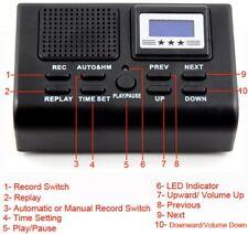 REGISTRATORE AUTOMATICO TELEFONICO digitale su scheda SD INCLUSA DA 8GB
