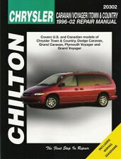 1996-2002 Chrysler Town&Country Caravan/Grand Voyager/Grand Repair Manual 5605