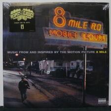 '8 MILE' Soundtrack Eminem 50 Cent Jay-Z Nas D12 Xzibit Vinyl 2LP NEW/SEALED