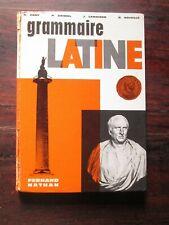 GRAMMAIRE LATINE - Cart / Grimal / Lamaison / Noiville