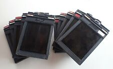 Fidelity deluxe 4x5 Cut Film Holder Back Lot of 10 Used