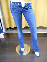 JEANS DONNA MISS SIXTY ART.DL0805 TREE EXLOVE TROUSERS GAMBA LARGA ZAMPA SCURO