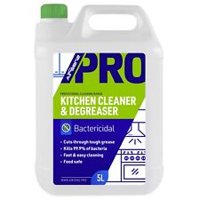 AIRSENZ Professional Kitchen Cleaner Degreaser 5L Bactericidal Surface Cleaning