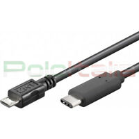 Cavo da 0 a 3m USB 3.1 type C 2.0 MICRO tipo B caricabatteria per Samsung Huawei