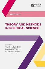Theory & Methods in Political Science 4e