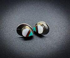 Vintage South American Sterling Silver Earrings
