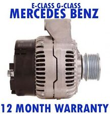 MERCEDES BENZ - E-CLASS 250 300 - G-GLASS 350 - 1993 - 2015 ALTERNATOR