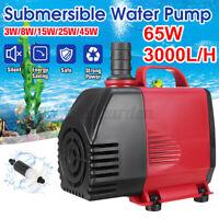 3W-65W 220-3000L/H Aquarium Wasserpumpe Tauchpumpen Teichpumpe Tauchwasserpumpe