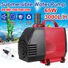 3-65W 220-3000L/H Aquarium Wasserpumpe Tauchpumpen Teichpumpe