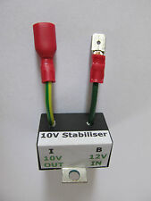 Electronic instrument voltage stabiliser – 10 volt for classic cars  (as BR13xx)