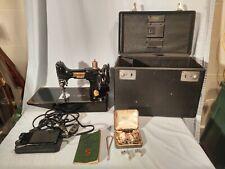 Vintage 1950 Singer 221 Featherweight Sewing Machine, Aj616789