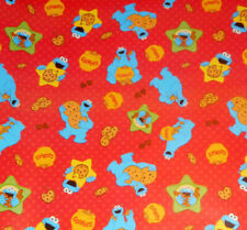 Cookie Monster Gift Wrap Roll 12.5 sq ft Sesame Street Wrapping Paper NEW 2016