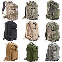 Military Tactical Backpack Rucksacks Outdoor Camping Hiking Trekking Bag K5X9