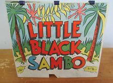 THREE LITTLE PIGS & LITTLE BLACK SAMBO Flipbook, Early 1940s