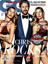 GQ UK 4/'14 CHRIS O'DOWD JESSICA HART Jose Mourinho MONTY PYTHON Lake Bell @NEW
