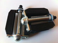 "BICYCLE VINTAGE PEDALS 1/2"" BLOCK KRATE BEACH CRUISER LOWRIDER BMX CHOPPER CYCLI"