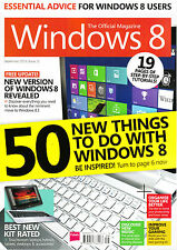 WINDOWS 8: THE OFFICIAL Magazine #11 September 2013 50 NEW THINGS TO DO @NEW@