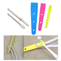 5pack 2 Style Bodkin Threaders Elastic Threader Guides DIY Sewing Accessories
