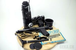 Photosniper FS-12 Russisch SLR 35mm Kamera ZENIT-12S/TAIR-3S, Helios