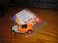 Nice Lot of 2 Hot Wheels McD Happy Meal toys Hot Hubs 1930's Ford Roadster