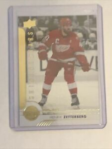 Henrik Zetterberg 2017-18 Upper Deck Shining Stars Red #SSL-4 Detroit Red Wings