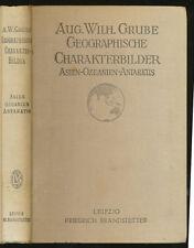 Geographische Charakterbilder 1924  Asien Ozeanien III Antarktis  Wilh. Grube
