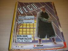 VECU n° 09 11.1985 HITLER BEN-HUR MAO TSE TOUNG SPARTACUS TIBERE CESAR - GLENAT