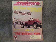 Streetscene Magazine August 1975 Vol IV No. 8 Lodi 75 Street Machine Van Z706