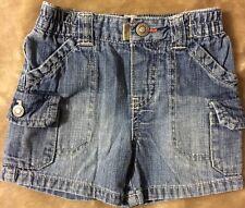 Oshkosh Genuine Baby Shorts Boys Size 9 months Denim  Great Condition!