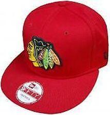 Chapeaux rouge New Era pour homme en 100% coton