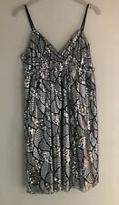 New Ladies Party Evening Dress Traffic People Strappy Dress UK 12 M