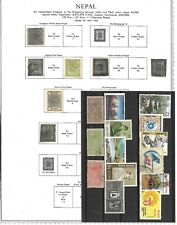 Nepal Small Selection From Auctions. Mint/ Predominantly Used