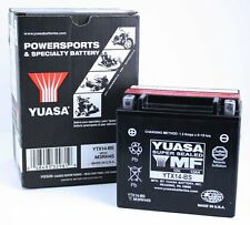 NEW Genuine Yuasa YTX14-BS Dry Charged Motorcycle Battery 12V 12Ah 200CCA AGM