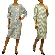 3/4 Arm Damenkleider aus Viskose in Größe 40